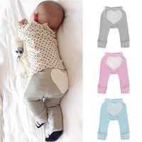 Wholesale Baby Trousers Pencil Pants - Mikrdoo 2017 Newly Trendy Baby Trousers Cotton Heart Pattern Harem Pants Kids Boys Girls Spring Autumn Sweet Clothes Casual Pant 3 Colors