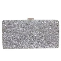 All'ingrosso-Hot Fashion Donna Borsa da sera Donna Diamond Strass Frizione Crystal Day Frizione Portafoglio Wedding Purse Party Banquet