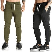 Wholesale Harem Skinny Sweatpants - Wholesale-Jogging Gym Sport Harem Pants Skinny Slim Fit Casual Trousers Sweatpants Mens
