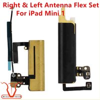 Wholesale Ipad Right Antenna - Antenna Right & Left Signal Flex Cable 1 Pair Replacement Repair Parts Set For iPad Mini 1