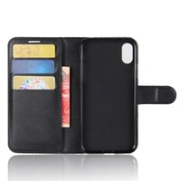 Wholesale Slots Cash - Leather Wallet case With card slot cash pocket Phone Stand for Iphone X Iphone 8 Plus Goophone I7 I6 Samung S8 Note 8 cell phone cases