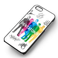 apple 4s чехлы для телефонов оптовых-Pentatonix мода телефон случаях для iPhone 6 6 S Plus 7 7 Plus 5 5S 5c SE 4s задняя крышка