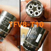 Wholesale 20pcs TFV8 Coil Head TFV8 coils V8 T8 V8 T6 V8 Q4 V8 X4 V8 T10 Turbo V8 RBA Replacement Coils For TFV8 Cloud Beast