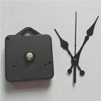 mecanismos de relógio mecanismos venda por atacado-DIY Quartz Clock Movement Kit Preto Relógio Acessórios Mecanismo Do Eixo Reparação com Conjuntos de Mão Comprimento Do Eixo 13 Melhor