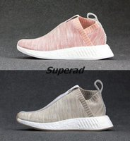 Wholesale Naked Original - New KITH x NAKED x NMD Runner City Sock PK Primeknit CS2 Men Women Running Shoes Sneakers Originals Nmds CS2 Classic Sport Shoes