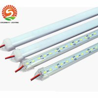 Wholesale 72 Led Light Bar - Wholesale 100 Hard LED Strip 5630SMD Cool Warm White Rigid Bar 72-LEDs LED Light Shell Housing With Cover By DHL LED rigid strip