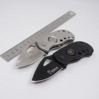 Wholesale Boker Mini Folding Knife - Mini Boker Folding Knife Camping Hunting Tactical Survival Knives 440 Blade Aluminum Handle Outdoor Rescue Fishing EDC Gear Tool