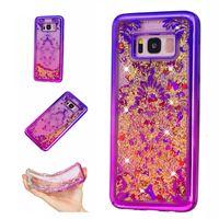 Wholesale Case For Star A3 - For Samsung Galaxy S7 edge A3 A5 J3 J5 2016 J310 J510 S8 Plus Case Transparent TPU Dynamic Liquid Glitter Sand Quicksand Stars Back Cover