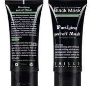 Wholesale Eye Purified - NEW SHILLS Deep Cleansing Black Mask Pore Cleaner 50ml Purifying Peel-off Mask Blackhead Facial Mask Free naked kylie Eye shadow palette