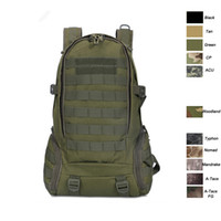 Outdoor Sports Waterproof Tactical Pack Bag / Sac à dos / Knapsack / Assault Combat Camouflage Tactical Sac à dos Camo Molle NO11-011B