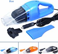 Wholesale Strong Car Vacuum - Wholesale-New 2016 100W 4.5m Cable strong car vacuum cleaner mini vacuum cleaner for car aspirator car cleaner