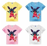 Wholesale Kids Fashion Clothes Low Price - Kids Clothes 2017 Summer New Arrival Baby Boys Girls Cartoon T Shirts China Low Price Children Tees Clothing