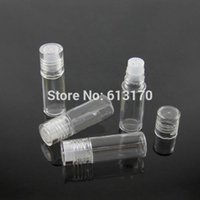 Wholesale Glass Powder Container - 3G Mini Small loose Powder Jars bottle with Sifter Mesh Clear Empty Diy nail glitter container Packing bottle free shipping