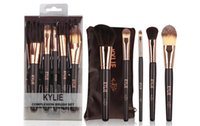 Wholesale Makeup Sell Professional - hot selling new kylie Makeup Brushes 5 pieces Professional Makeup Brush set free shipping