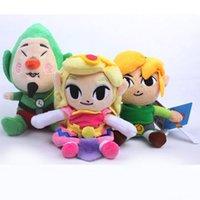 "Wholesale Tingling Toy - Hot Sale 6"" 15cm Legend of Zelda Plush Doll Stuffed Toy Waker Link Princess Wind Waker Tingle New"