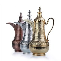 Wholesale hot sale High grade Arab style vacuum glass tank insulation coffee pot thermos hot water bottles