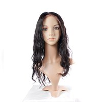 Wholesale Tangle Free Full Lace Wigs - Uglam Hair Brazilian Body Wave Full Lace Human Hair Wigs Brazilian Virgin Hair Glueless Free Shipping No tangle Can be Restyle Well