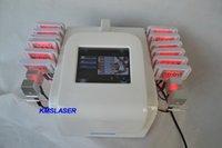 lipo laser 16 almofadas venda por atacado-Máquina gorda do lipolaser da redução do laser do lipo do diodo das almofadas 650nm
