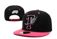 Wholesale Trukfit Hot Pink Hat - HOT! Orange Black Snapbacks Adjustable Street Headwear trukfit snapback hat sport caps free shipping