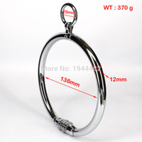 Wholesale Metal Bondage Collars - Sex Toys For Couples Metal Collar With Password For Woman Stainless Steel Locking Bondage Sex Games For men Adult Sm Toys