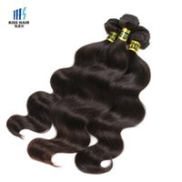 Wholesale Lasting Hair Color - 3 Bundles Top Quality Brazilian Body Wave Virgin Hair Weft Last One Year Unprocessed Virgin Remy Human Hair Weave Mink Braid Hair Extensions
