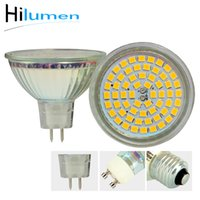 Wholesale Mr16 Led Wide - Hilumen 4 pack 5w Dimmable MR16 GU10 LED 120V Halogen Replacement Bulb, 120 degree wide beam LED bulb lights , 50W Equivalent