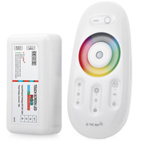 Wholesale Led Wireless Ball - Remote Control RGB Controller DC 12-24V 18A 2.4G Wireless Touch Screen Christmas Ball Bulb RGB RF Controller For LED Strip