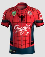 Wholesale 2017 Australia Sydney Roosters champion AIG Supper Rugby Jersey All Black Rugby Shirt Teams Rugby Clothes Hot Sale