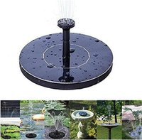 Wholesale solar power auto - New solar Water Pump Power Panel Fountain Kit Fountain Pool Garden Pond Submersible Watering Display auto-spring with English Manaul