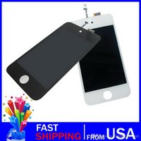 Wholesale Touch 4th Lcd Display - For iPod Touch 4 LCD Screen Replacement Digitizer New LCD Display+Touch Screen Digitizer Assembly Fit For iPod Touch 4G 4th Free shipping
