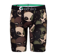 Wholesale Alien Fashion - Ethika Men's Staple underwear boxers alien sports hip hop rock excise boxers skateboard street fashion streched legging quick dry
