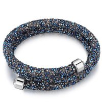 Wholesale Clasps For Jewelry Making - Made With Crystals from Swarovski Elements Bracelets Bangles Brand For Women Evening Party Jewelry Accessories 24371