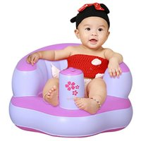 Wholesale Multifunctional Inflatable Sofa - Inflatable Children Chairs Infant Safety Bath Dining Lunch Chair Portable Kids Sofa Chair Shower Chair Multifunctional Baby Seat JF0111
