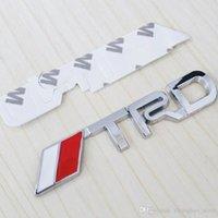 Wholesale Trd Sports Emblem - Aluminum Alloy Auto car TRD sports Fit for Emblem Badge Decal Sticker
