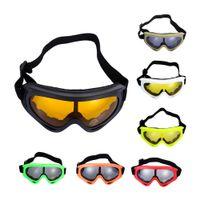 gözlük gözlüğü motosiklet camları toptan satış-Açık Kayak Snowboard Toz Geçirmez Anti-sis Gözlük Motosiklet Kayak Gözlük Lens Çerçeve Göz Gözlük Yüzme Gözlüğü Güneş Gözlüğü