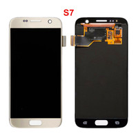 Wholesale Lcd Oled - New arrived Original 3 Colors OLED LCD Display Touch Digitizer Frame Assembly Repair For Sumsung S3 S4 S5 S6 S7 S8 fast shipping