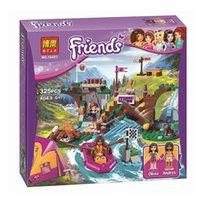 Wholesale Olivia Toys - BELA 10493 325pcs Friends Adventure Camp Rafting camping Blocks Olivia Andrea Girl Toy No original box