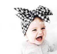 flores de crochet para faixas de bebê venda por atacado-2016 hot baby DIY Cabeça Headwear Flor Acessórios Para o Cabelo de algodão flor de crochê headbands faixa de cabelo elástico bebê crianças meninas treliça Bandanas