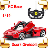 электрическое крыло rc оптовых-Вентиляторы автомобиля подарок 1/14 LF RC электрический дрейф автомобиль дистанционного управления Roadster автомобиля открываемые крыло двери модель гоночные игрушки