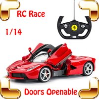 Car Fans Gift 1/14 LF RC Drift elétrico Carro Controle Remoto Roadster Vehicle Openable Wing Door Model Racing Toys