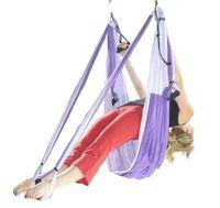 Wholesale yoga swing online - handle air YOGA SWING multifunctional Yoga Yoga hammock