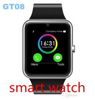 Orologio Smart Watch Orologio GT08 MTK6261 Sync Notifier Facebook Twitter Con Sim Card Bluetooth 3.0 per il telefono Android