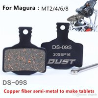 Wholesale Hydraulic Disc Brake For Bikes - wholesale Top Sale Bicycle Disc Brake Pads MTB Mountain Bike Hydraulic Brake Pads for Magura MT2 MT4 MT6 MT8 Bicicleta Accessories