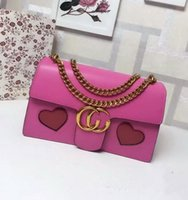 Wholesale Ladies Cowhide Bags - Free shipping! wholesale famous designers brand bag with cowhide genuine leather wristlet for women handbags 431777