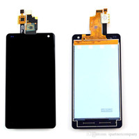 Wholesale Optimus G Digitizer - For LG Optimus G LS970 F180 E975 E971 Full LCD Display +Touch Screen +Black color Bezel Frame Digitizer Assembly with free repairing tools