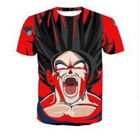 Wholesale Womens Summer Style T Shirts - Newest Fashion Hot Sale Womens mens Dragon Ball Z Summer Style Funny 3D Print Casual T-Shirt AB90