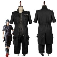 Wholesale Male Fantasies - Adult Final Fantasy XV FF15 Noctis Lucis Caelum Noct Cosplay Costume Outfit Male Female Custom Made Any Size