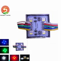 Wholesale Ad Chips - 5050 RGBW LED modules lights DC12V IP67 waterproof outdoor ad channel letter super bright led chip Lighting decoration free shipping