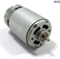 standard shaft 550 dc motor, 12V micro dc motor, high speed, 3.175 diameter shaft, DIY Drilling motor