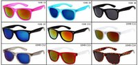 Wholesale Cooler Shipping Boxes Wholesale - summer woman fashion Cycling glasses with case box cloth mens riding Driving Glasses wind mirror Cool sun glasses free shipping